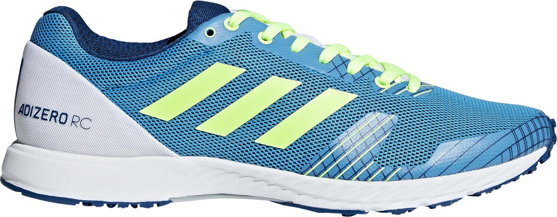 Adidas Adizero RC Mens Running schuhe Blau Lightweight Track Marathon Training