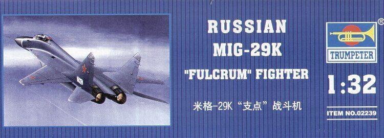 Trumpeter 1 32 Mikoyan Mig 29k Fulcrum  02239
