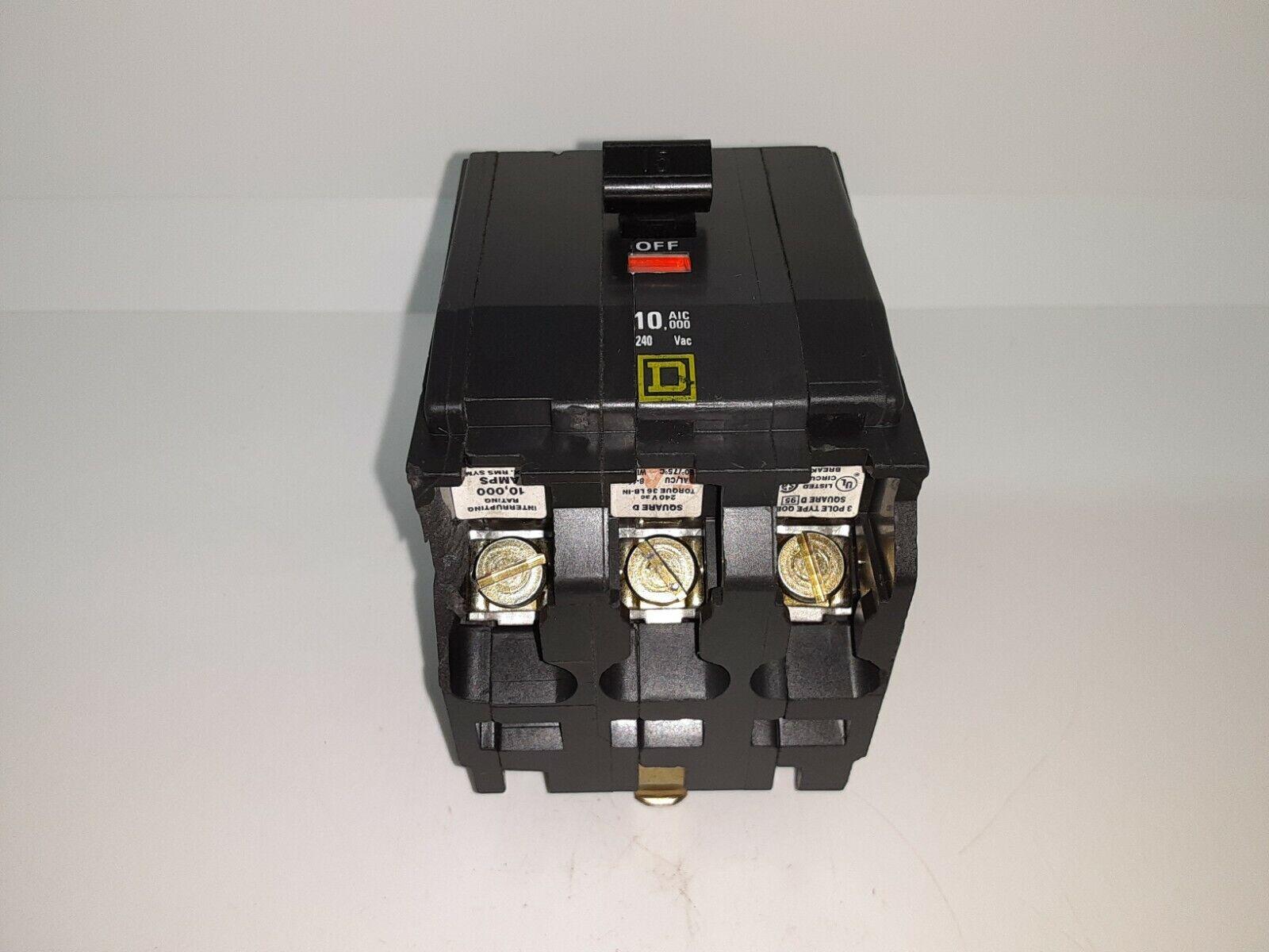 2 P0LE 100 amp 120//240V Square D QO Bolt-On circuit breaker