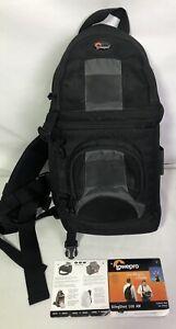 Lowepro Slingshot 100 Aw All Weather Digital Camera Backpack Black 34736 56035999185 Ebay