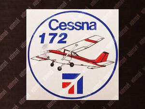 ROUND-DIECUT-CESSNA-C-172-C172-SKYHAWK-DECAL-STICKER-3-5-x-3-5in-9-x-9cm