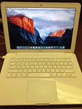 "Apple MacBook 13"" 2.26GHz 4GB Ram 250GB HDD A1342 El Capitain See Description"