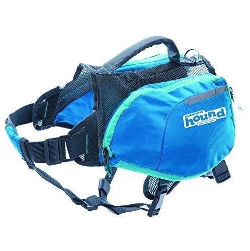 Outward Hound Daypak Adjustable Saddlebag Style Hiking Gear For Dogs
