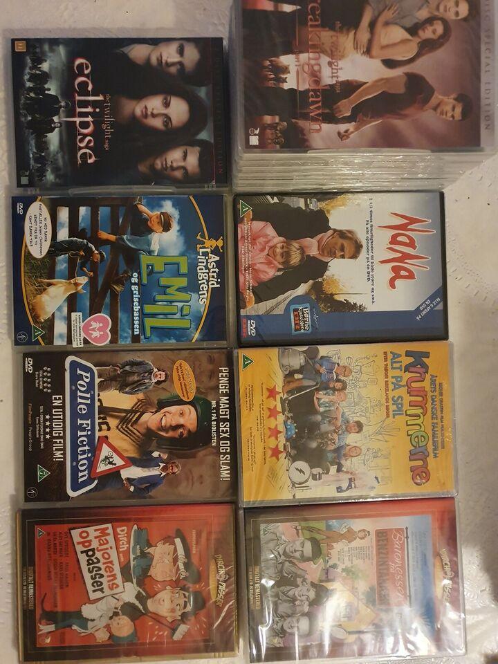 Blandede dvd film, DVD, andet