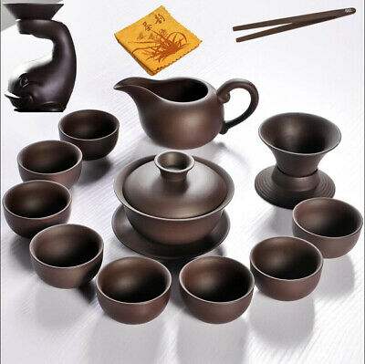 full handmade office cup real yixing zisha tea cup filter net cup floral relief