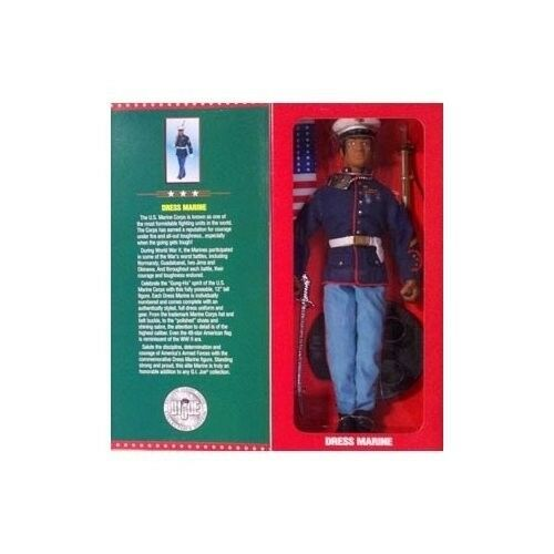 12'' G I Joe Dress Marine, EXCLUSIVE Limited Edition, AFRICAN AMERICANA