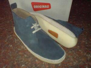 Drille Denim Clarks 10 Originals 7 Da Uk 9 11 Blu Boots Stivali Desert Uomo 8 6 Y8Yqr