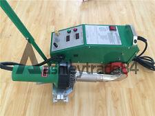 Intelligent PVC PE Flex Banner Seam Welder with 1600W Leister Heat Gun 220V