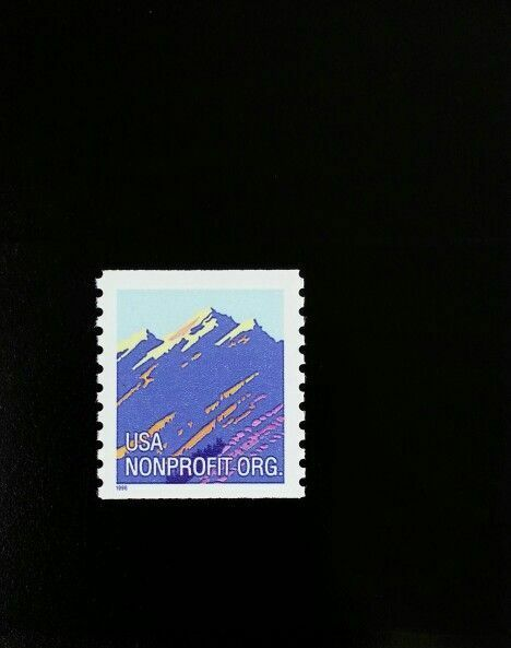 1996 5c American Designs, Mountain Coil Scott 2903 Mint