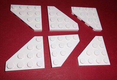 4 x LEGO® 30503 Bau-Platte Schräge 4 x 4 flach schwarz neu,