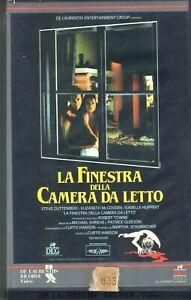 la-FINESTRA-DELLA-CAMERA-DA-LETTO-Usa-1988-VHS-Ricordi-1a-Ed-Isabelle-Hupper
