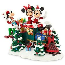 New in Box Disney Santa Mickey Mouse Friends Train Figure Collectible Sculpture