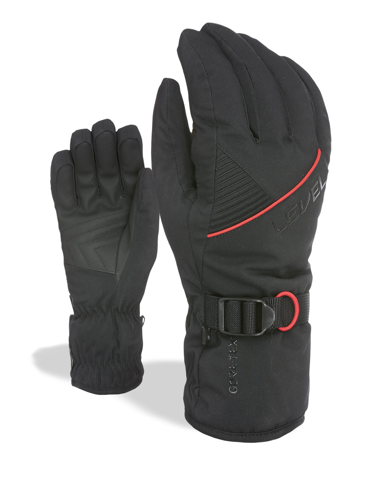 Level Guantes Trouper Gore-Tex black Resistente Al Viento Impermeable