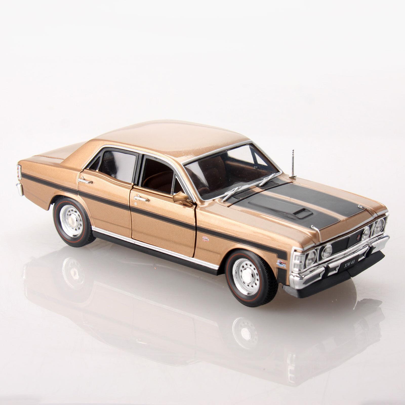 Ford Falcon XW GT HO 351 1 32 Scale Aussie Classic Diecast Car Grecian gold