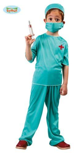 Chirurgien Costume pour enfants carnaval fête op Docteur accident Taille 110-146