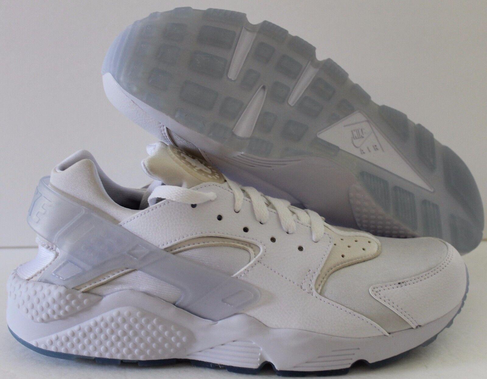 Nike Men's Air Huarache Premium ID White Price reduction
