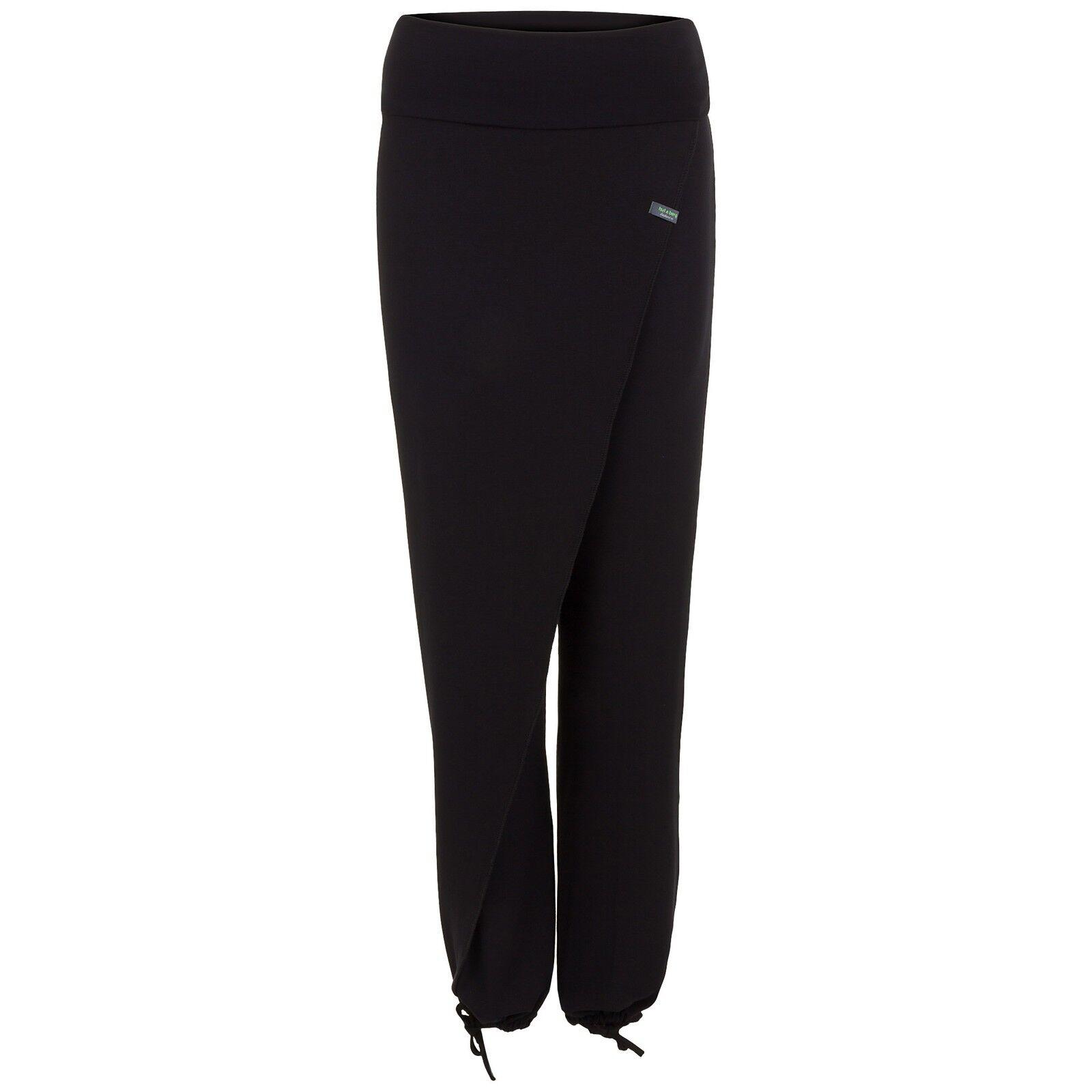 Yoga Damen-Pumphose schwarz, THAI CROSS OVER OVER OVER von hut und berg balance    Ideales Geschenk für alle Gelegenheiten  692585