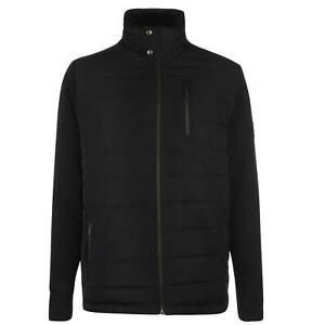 Mens-Firetrap-Satori-Knit-Jacket-Lined-Zip-New