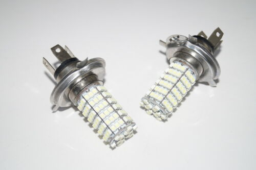 CHRYSLER GRAND VOYAGER 1996-1998 2X H4 120 SMD LED 12V WHITE FOG LIGHTS BULBS