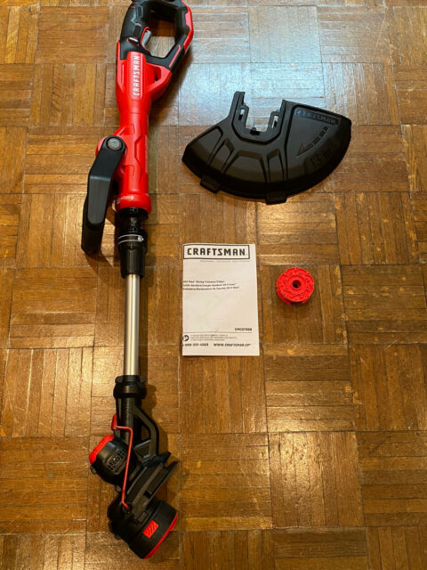 NEW Craftsman V20 20 Volt Max 13-in Straight Cordless String Trimmer BARE TOOL