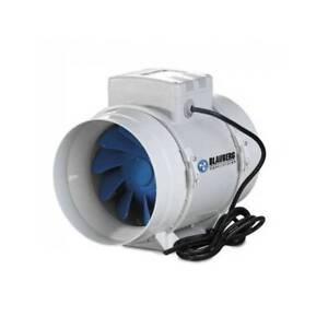 Blauberg: Estrattore D'aria Bi-Turbo 12,5Cm + Cavo - 220/280M3/H Aspiratore Aria