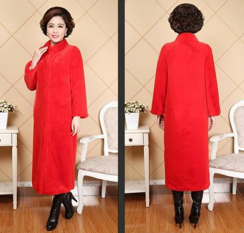 8xl Manteaux Femmes Chauds Fourrure Hiver Parkas Super Long Vestes Outwears 0n8wOPk