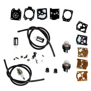 Carburateur Réparation Kit Primer Ampoule Conduite Carburant Filtre Pour STIHL FS36 FS40 FS44 partie