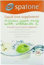 Nelsons Spatone Supplemento Naturale di Ferro Apple Vitamina C 28 giorno