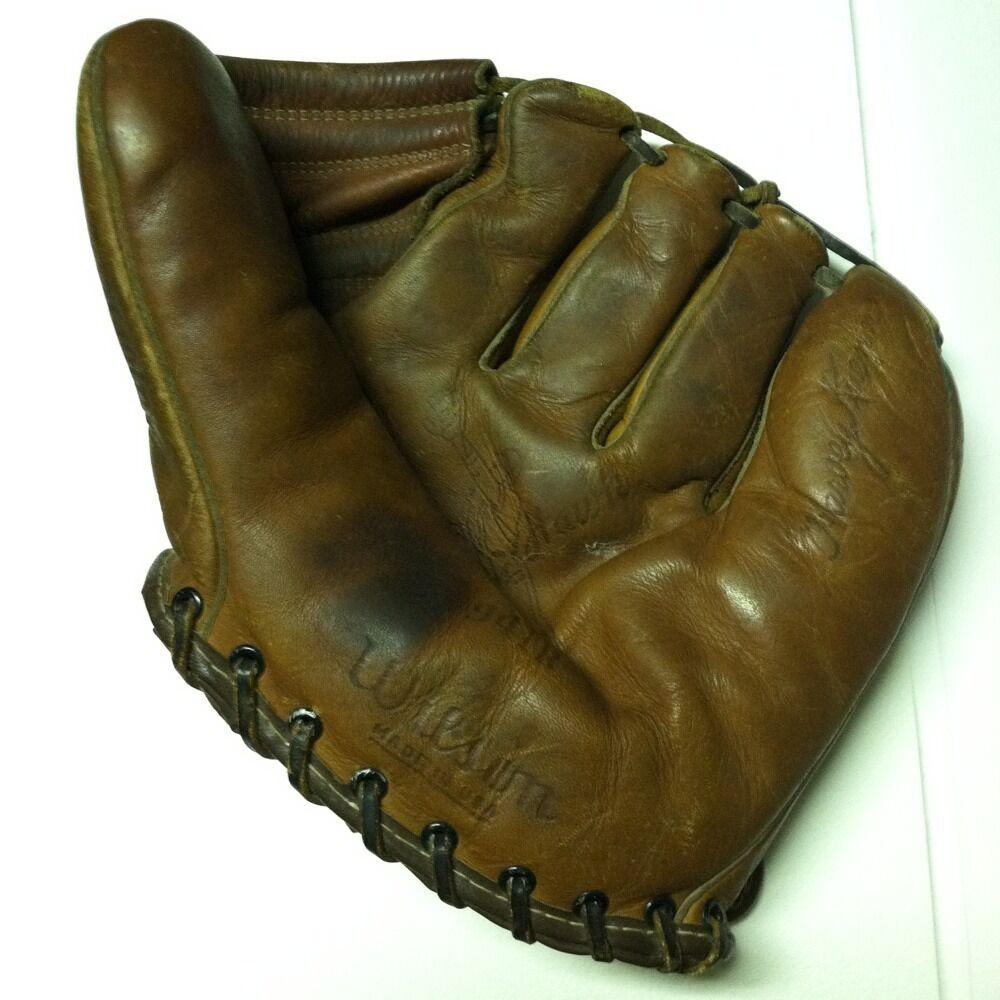 Vintage Wilson Ball Hawk Baseball Glove