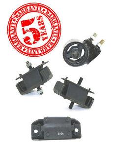 Engine Motor /& Transmission Mount Set 4PCS 1995-2002 for Kia Sportage 2.0L