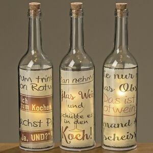 Led Deko Flasche Dekoration Geschenk Geburtstag Wohnen 8341800 Flur