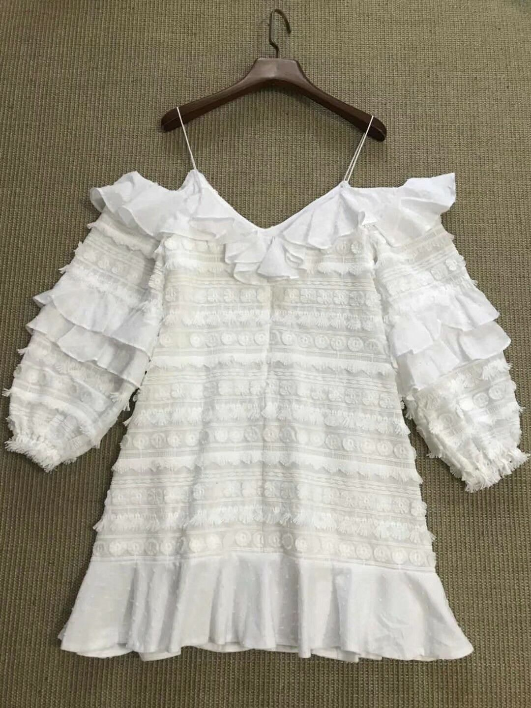 60% 60% 60% Off  Authentic ALEXIS Calypso Dress  451 - XS Pink White 4a7d4f