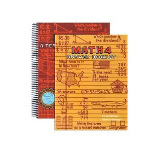 Teaching Textbooks Math 4: 4th Grade Math Curriculum TextBook and Answer Key