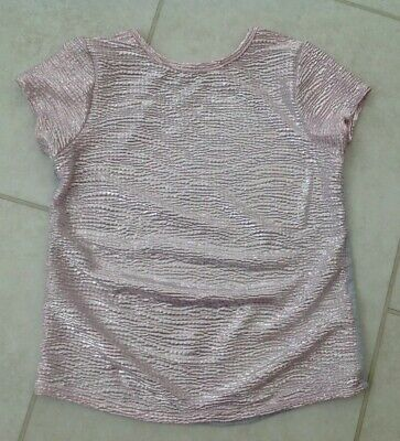Girls Rosa Sparkle T-shirt, Età 6-7 Anni-mostra Il Titolo Originale Sapore Aromatico