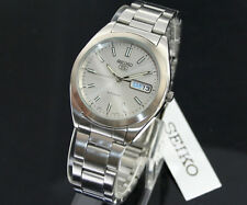 Seiko 5 Automatic Mens Watch See Through Back SNX993K UK Seller