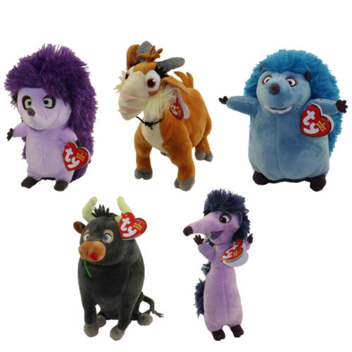 TY Beanies Complete 5-Piece Ferdinand Movie Characters