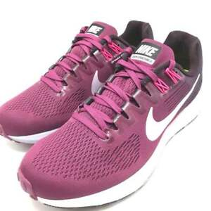 1652669f5bb7e Nike Women s Air Zoom Structure 21 Tea Berry Ice Lilac-Port Wine ...