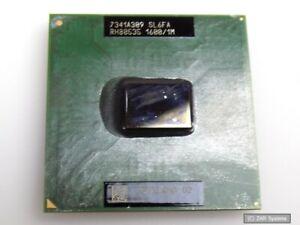 Intel sl6fa Processeur Pentium M 1.6ghz 1 Mo Cache 400 MHz FSB µpga 478 C 24.5 watts