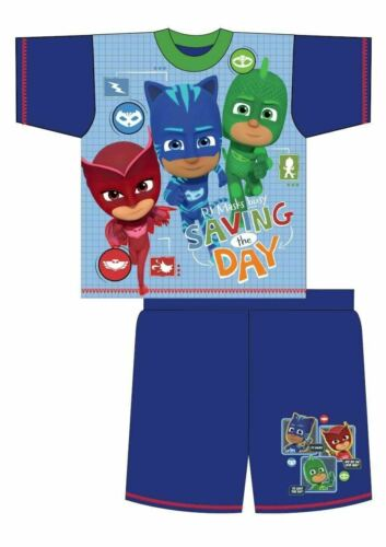 Boys Pyjamas Girls Set Pjs Nightwear Sleepwear Character