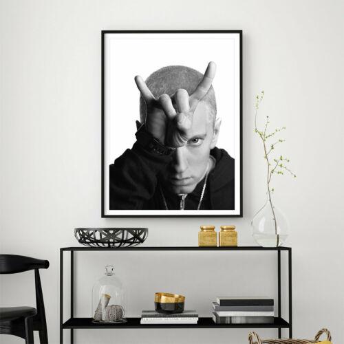 Eminem Music Star Art Poster Print A3 A2 A1 Sizes