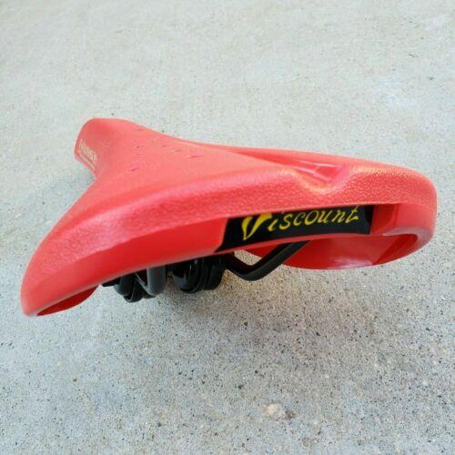 DOMINATOR VISCOUNT RAILED SEAT BLACK WHITE RED OR BLUE BMX BIKES SEAT SE GT