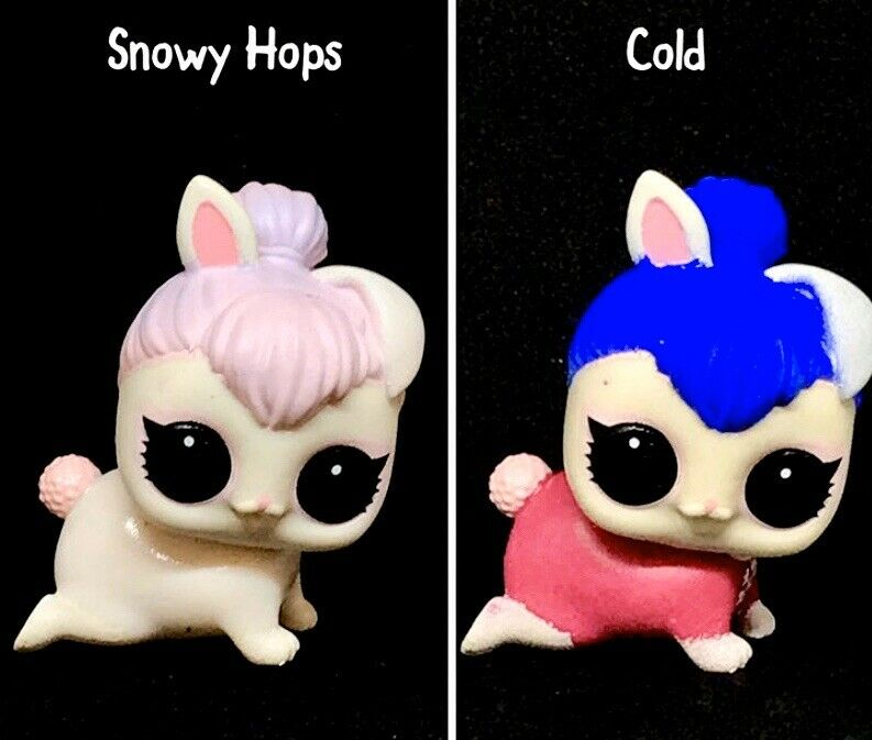 LOL Surprise SNOWY HOPS Makeover Series 5 Lils Snow Bunny Pet Bunny~New Sealed!