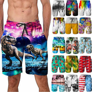 f04ca0c8bd6 Quickly Dry Surf Mens Swim Truck Shorts Swimwear Suit Casual Beach ...
