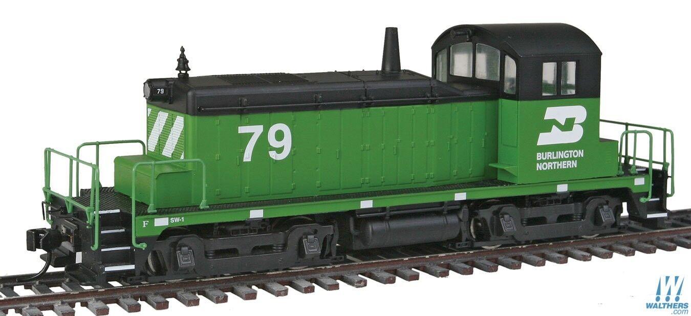 Ho Ho Ho Walthers la línea principal 910-9218 EMD SW-1 Burlington Northern 79 68cdcc
