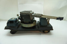 VINTAGE MARX LINEMAR TIN FRICTION ARMY TOY AIR DEFENSE POM POM GUN TRUCK PARTS