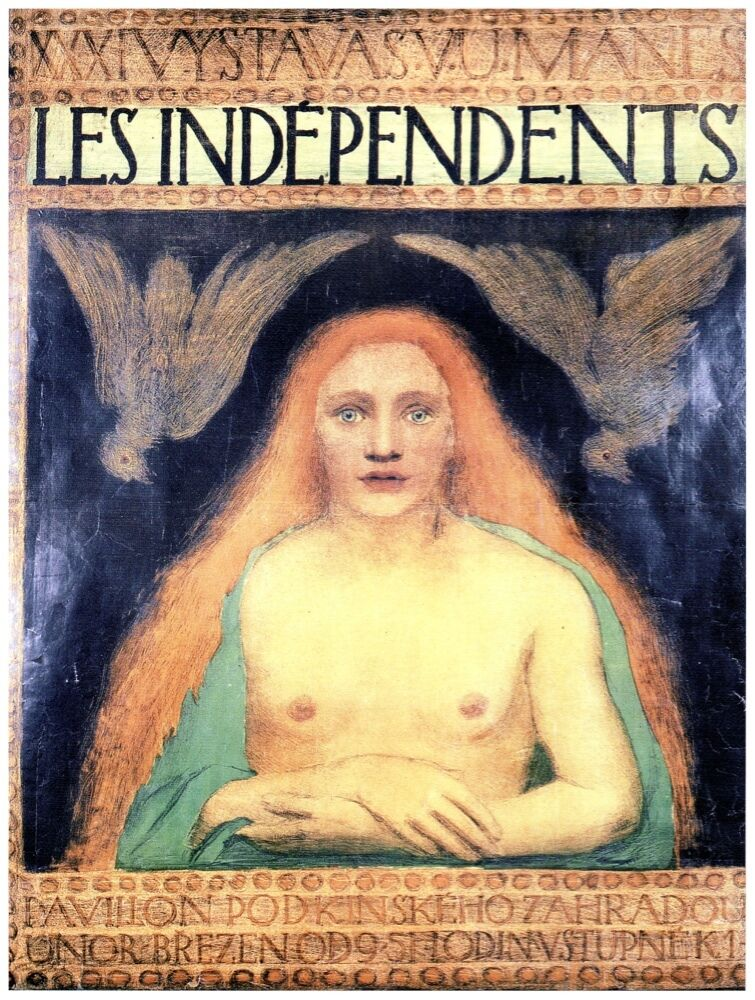 9463.Les independents.undressed woman with rot hair.POSTER cor Home Office art