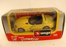 Burago 4165 Dodge Viper RT10 1/43 neuf en boite