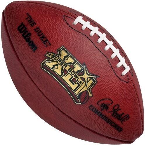 cheaper 8cfa9 b8e7f SUPER BOWL 41 XLI - Wilson Official Game Football (BEARS COLTS)