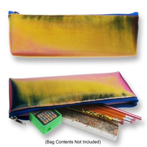 Futuristic Pink Orange Black Pencil Case Lenticular Color-Changing #Sobre-R305#