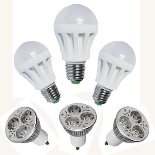 E14 E27 GU10 LED Birne Lampe Kerze Glühbirne Leuchte Strahler 1W - 12Watt